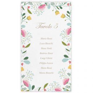 Set cartoncini tableau de mariage Jane