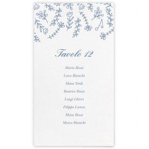 Set cartoncini tableau de mariage Maggie