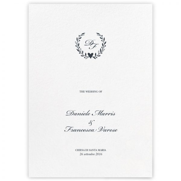 Libretto messa Celine