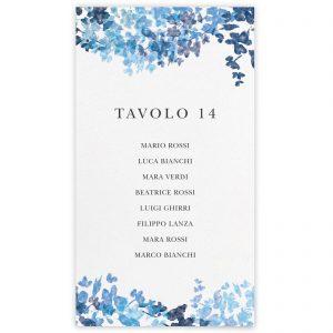 Set cartoncini tableau de mariage Dahlia