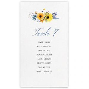 Set cartoncini tableau de mariage Katherine
