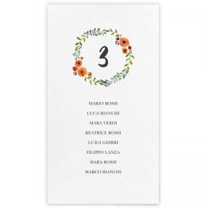 Set cartoncini tableau de mariage Kimberley