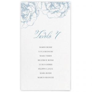 Set cartoncini tableau de mariage Diane