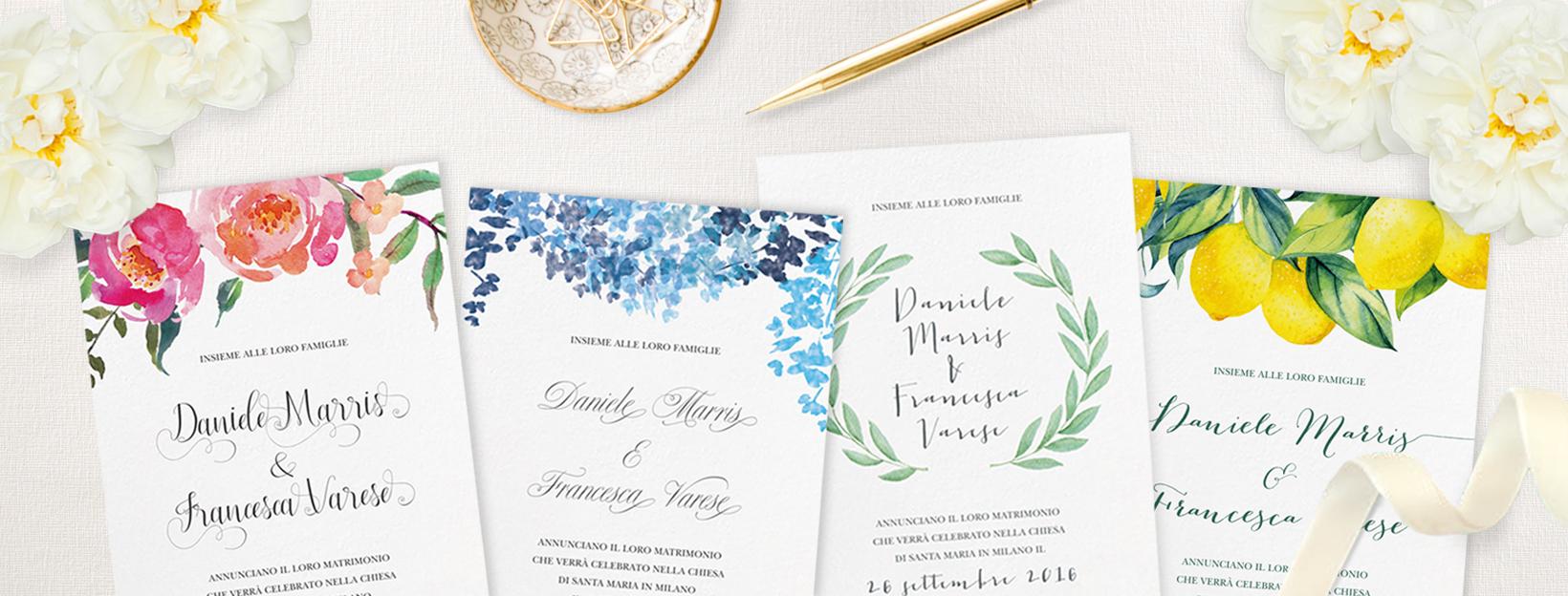 Partecipazioni Matrimonio Wedding.Partecipazioni Di Nozze On Line My Wedding Paper