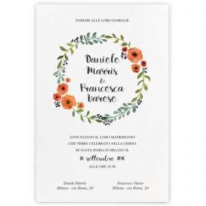 Partecipazione di matrimonio Kimberley