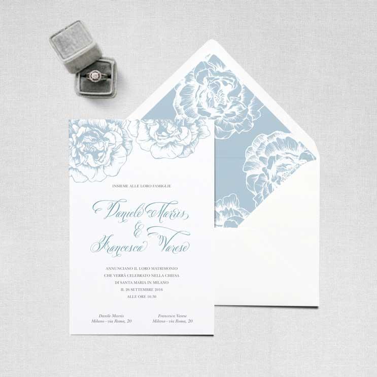 Partecipazioni Matrimonio Online.Partecipazioni Di Nozze On Line My Wedding Paper