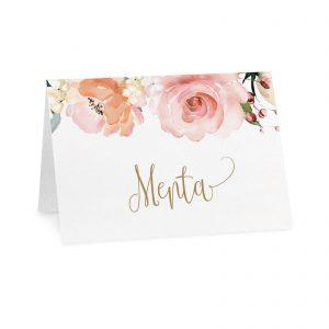 Cartoncino confettata Anastasia - Menta