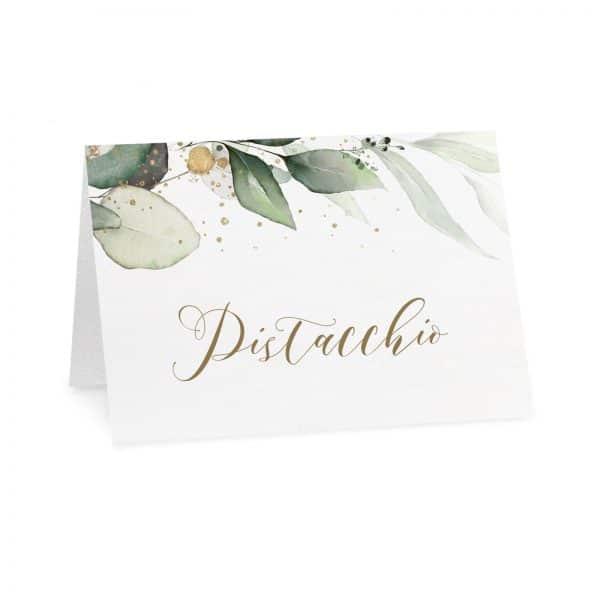 Cartoncini confettata Adrienne - gusto pistacchio