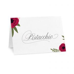Cartoncini confettata Sarah - Gusto Pistacchio