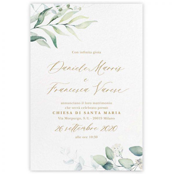 Partecipazione di matrimonio Chloe