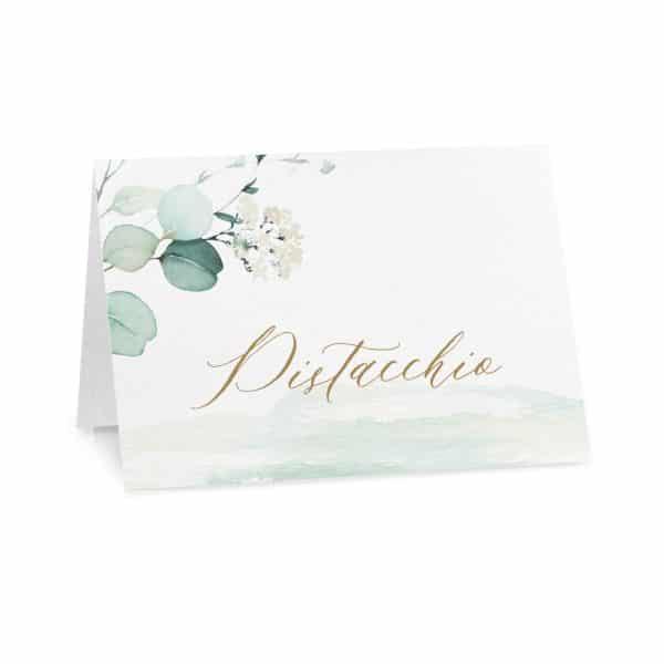 Cartoncini confettata Chloe - Gusto Pistacchio