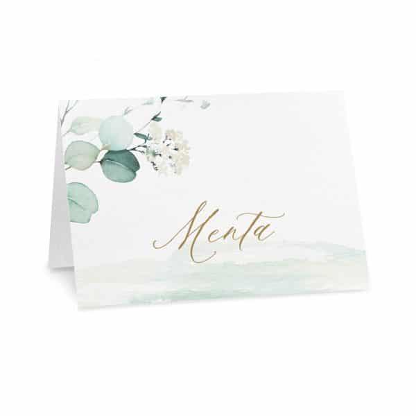 Cartoncini confettata Chloe - Gusto Menta